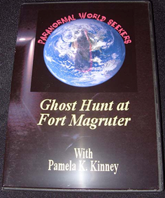 A DVD copy of Pamela K. Kinney's supernatural adventures at Fort Magruder.