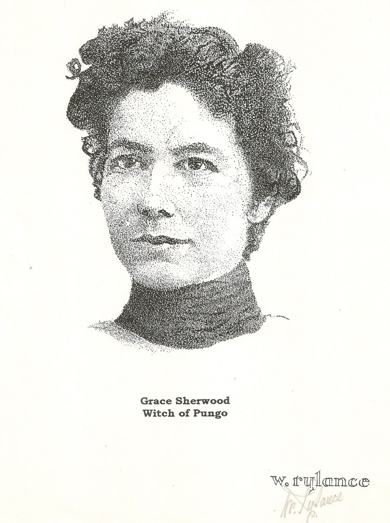 "Grace Sherwood: dutiful wife, animal lover, skilled herbalist, and ""witch."""