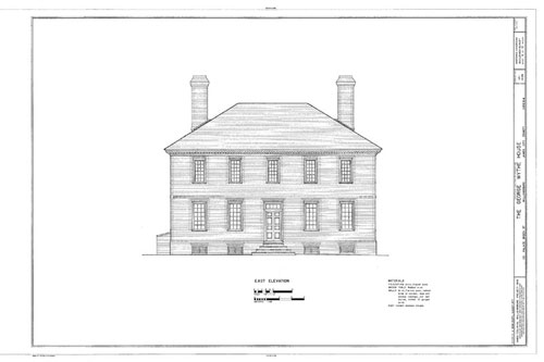 Plans for the Wythe House.
