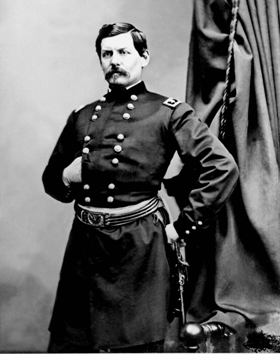 Major General George B. McClellan, Union Army general-in-chief from November 1861 to March 1862.