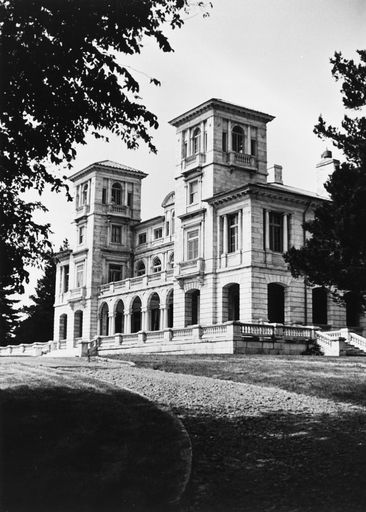 Swannanoa Palace was made from the best Italian marble.