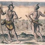 Painting of Powhatan Natives