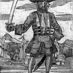 Edward Teach also known as the famous Pirate - Blackbeard