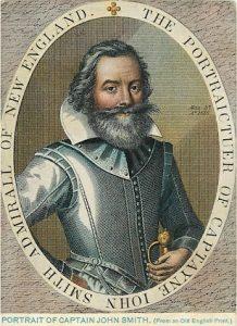 Portrait of Captain John Smith