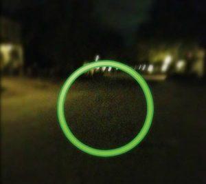 Strange object on camera