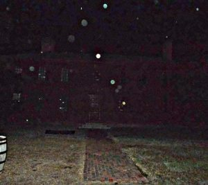 Strange glowing objects caught on camera in Haunted Colonial Williamsburg, Virginia