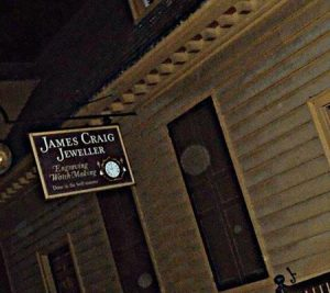Orbs seen in photo on Colonial Ghost Tour
