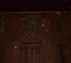 Orbs in photo in Colonial Williamsburg, Virginia