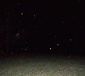Strange orbs in photo