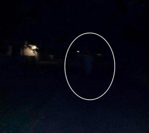 Mysterious shape caught on camera