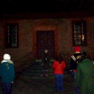 The haunted Secretary's Office in Williamsburg, Virginia