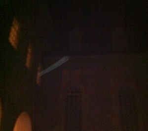 Something caught on camera at a Colonial Ghost Tour