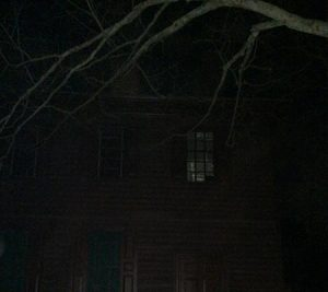 Something caught on camera in an abandoned house in Williamsburg, Virginia
