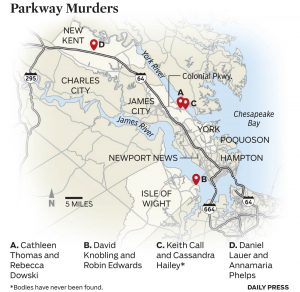 a map of the killings