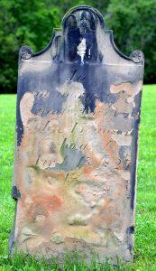 a 'melting gravestone' in boston cemetery