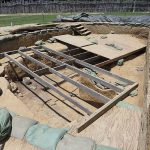 A dig site at Jamestown