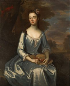 Portrait of Eveln Byrd one of the Westover Plantation Ghosts